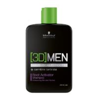 Šampūnas skatinantis plaukų augimą Schwarzkopf [3D]MEN Root Activator Shampoo 250ml