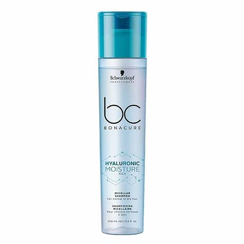 Drėkinamasis šampūnas plaukams Schwarzkopf Professional BC Hyaluronic Moisture Kick Shampoo 250ml