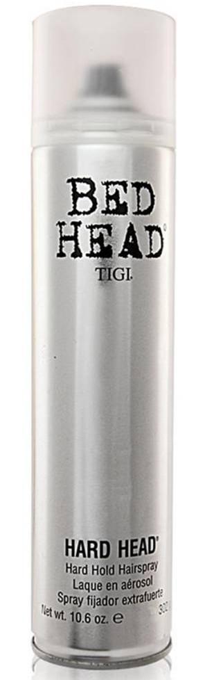 Stiprios fiksacijos greitai džiūstantis plaukų lakas TIGI Bed Head Hard Head Hold Hairspray 385ml