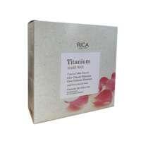 Vaškas su titano oksidu diskeliuose Rica Hard Wax 2x500g