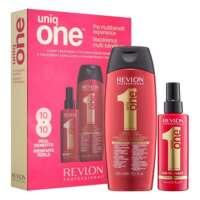 Plaukų priežiūros priemonių rinkinys Revlon UniqueOne Hair Treatment 300+150ml