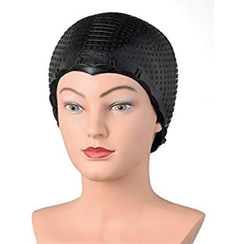 Kepurė lateksinė, juoda Comair Highlighter Cao, Latex Black