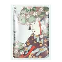Veido kaukė su alaviju ir sakura Mitomo Aloe + Cherry Blossom Essence Mask 25g