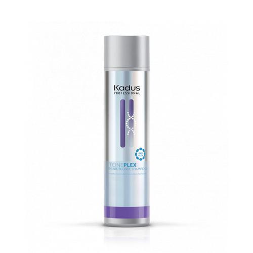 Pigmentuotas šampūnas šviesiems plaukams Kadus Professional TONEPLEX Pearl Blonde Shampoo 200ml