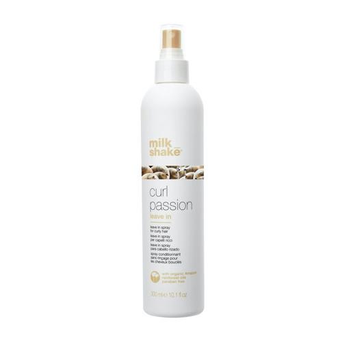 Nenuskalaujamas kondicionierius grabanotiems plaukams Milk Shake Curl Passion Leave In Conditioner 300 ml