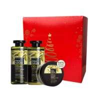 Farcom Mea Natura Olive rinkinys visų tipų plaukams 300x300x250 ml
