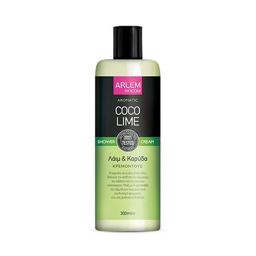 Kokosų ir laimų dušo želė FARCOM ARLEM Coco Lime Shower Cream 300 ml