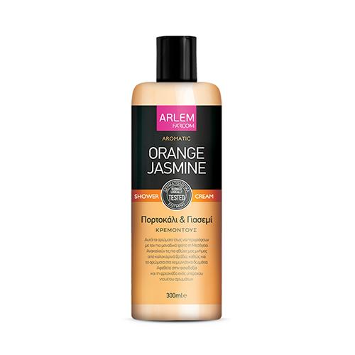 Apelsinų ir jazminų dušo želė FARCOM ARLEM Orange Jasmine Shower Cream 300 ml