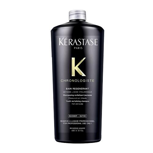 Plaukų šampūnas mažinantis plaukų senėjimo požymius Kerastase Chronologiste Bain Regenerant Shampoo 1000 ml