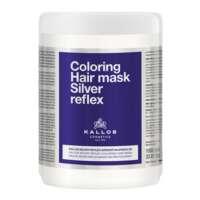 Dažanti plaukų kaukė Kallos Coloring Silver Reflex Hair Mask 1000 ml