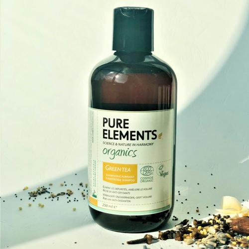 Apimties plaukams suteikiantis apelsinų ir mėtos šampūnas Pure Elements Orangemint Volumising Shampoo 250ml