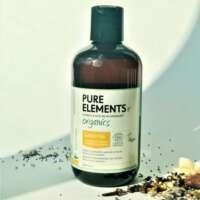 Apimties plaukams suteikiantis apelsinų ir mėtos šampūnas Pure Elements Orangemint Volumising Shampoo 1000ml