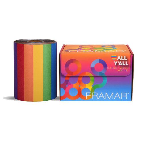 Spalvota folija ritinėlyje Framar All Y'All Foil Roll Medium Embossed 12,7 x 97,5m