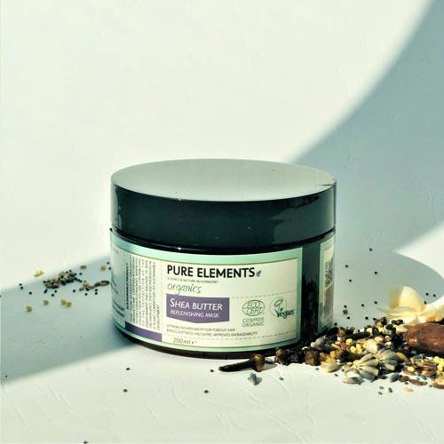 Plaukus maitinanti sviesmedžio kaukė Shea Butter Replenishing Mask 200ml