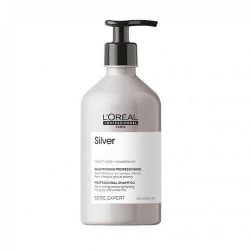 Atspalvį koreguojantis šampūnas L'Oreal Professionnel Silver Shampoo 500ml