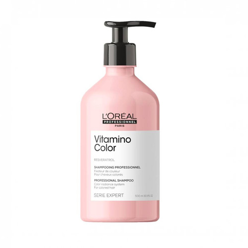 Šampūnas dažytiems plaukams L'Oreal Professionnel Vitamino Color Shampoo 500ml